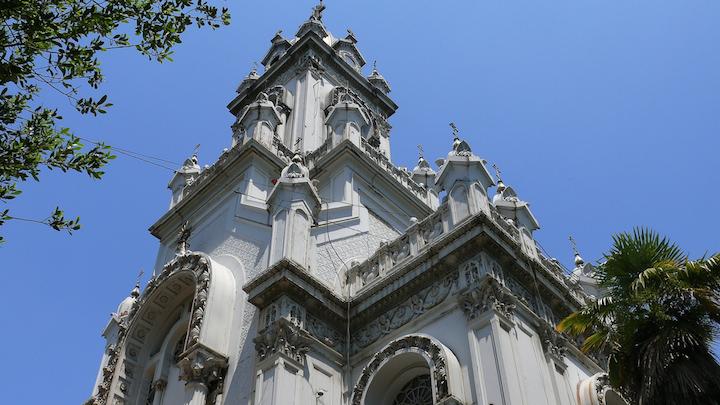 Tin tabernacles, Bulgarian St Stephen Istanbul