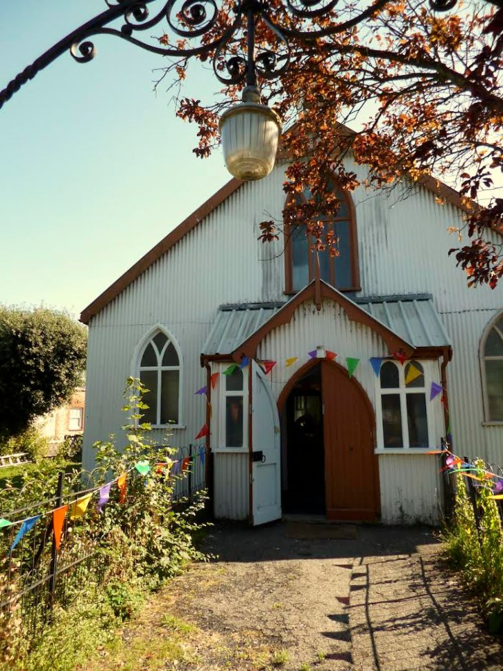 Tin church party, Hythe, Kent