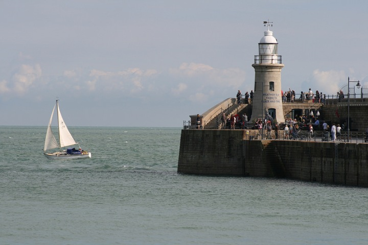 Folkestone Harbour Lighthouse, Angus Willson