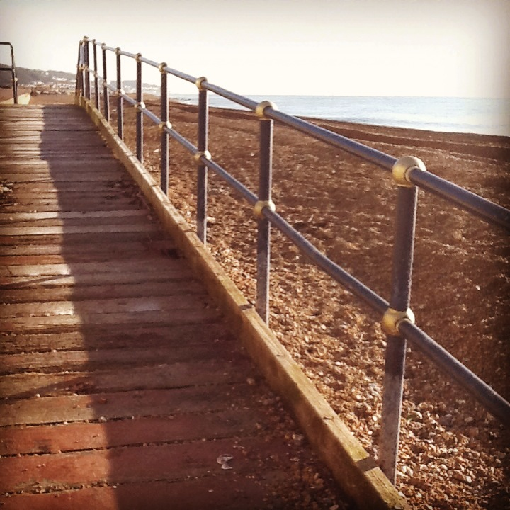 Hythe Kent seafront ramp