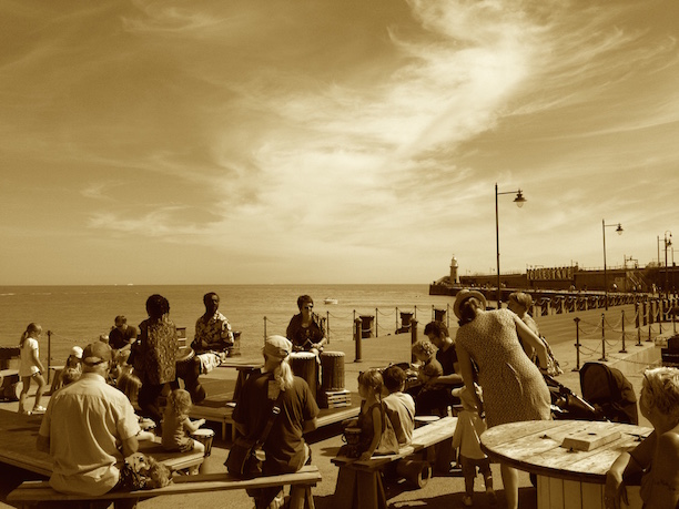 Folkestone Harbour Arm Kids' Music Event 2016